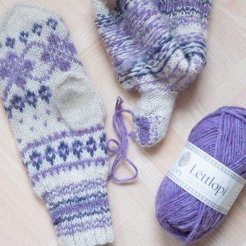 Léttlopi-lanka on ominaisuuksiltaan ihanteellista Suomenkin talveen