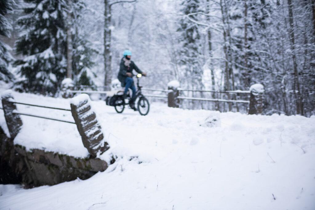 AILI – Tern HSD pitkäperäpyörä lumella