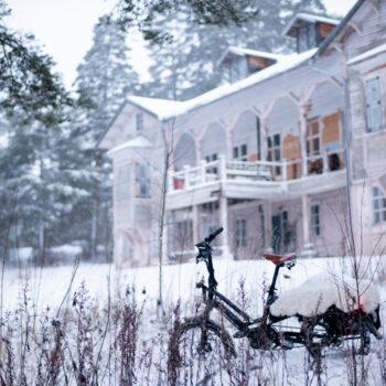 AILI – Tern HSD sähköistetty pitkäperäpyörä talvikelillä