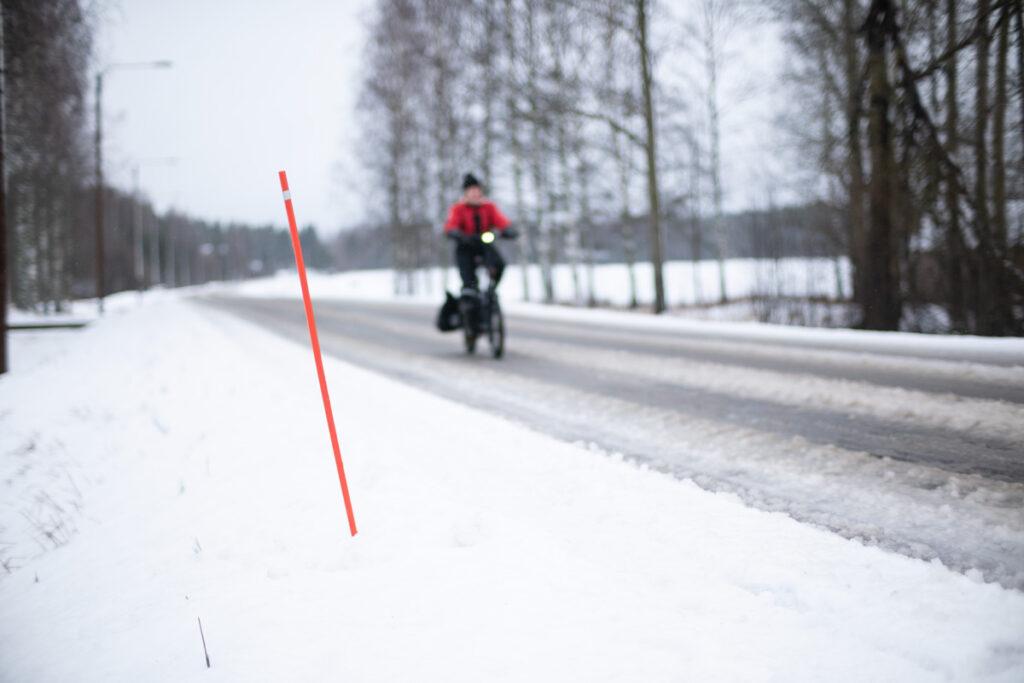 AILI – Tern HSD pitkäperäpyörä jäisessä loskassa